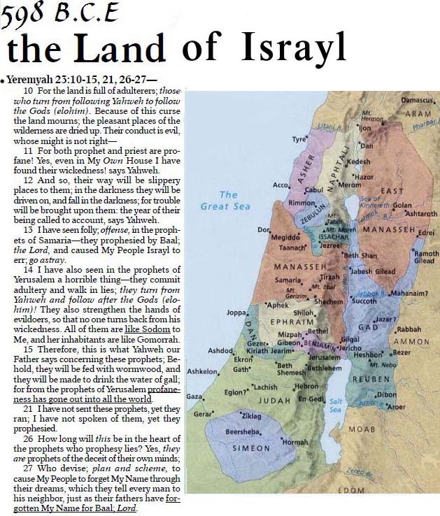 land of israyl