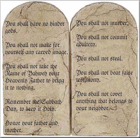 The Ten Commandments Catholic The commandments .