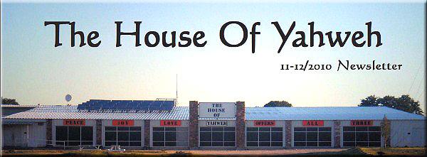 11-12-2010 Newsletter