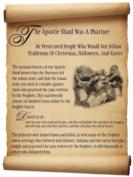 Apostle Shaul