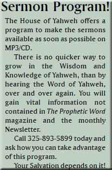 sermon program
