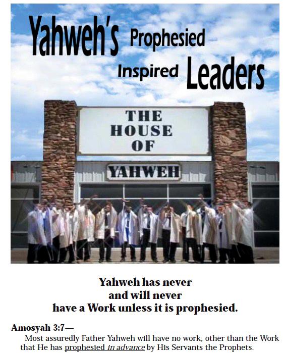 Yahweh's Leaders