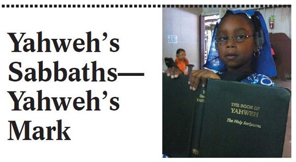 Yahweh's Mark